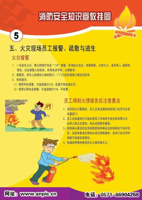 消防安全知识宣传画图片