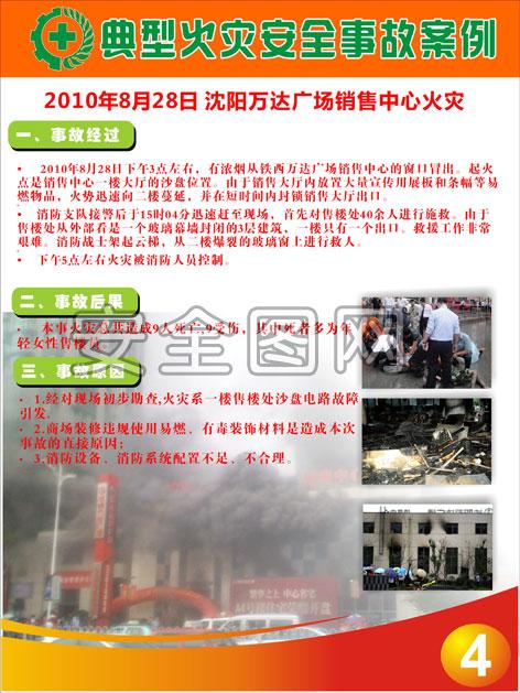 煤气安全_最新典型火灾事故案例挂图-安全图网